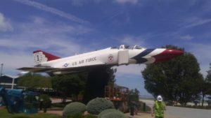 F4 Thunderbird Static Display - Lakefront Airport Cleveland, OH
