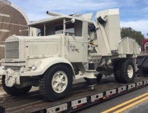 WWII Lancia Italian Gun Truck - Fort Sill, OK